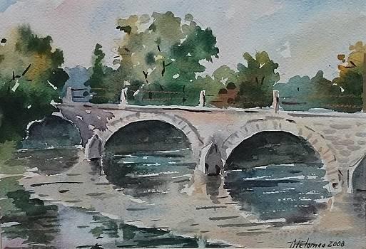 Kasari bridge by Ylo Telgmaa