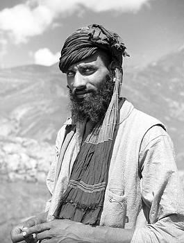 Kashmiri Mountain Villager by David Murphy
