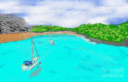 Kastelorizo island by Jiovanni Dim