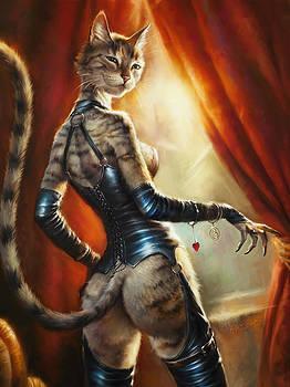 Kate. Girl Cats are Dangerous by Eldar Zakirov