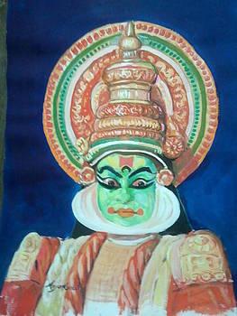 Kathakali by Arjunan Kalaiselvan