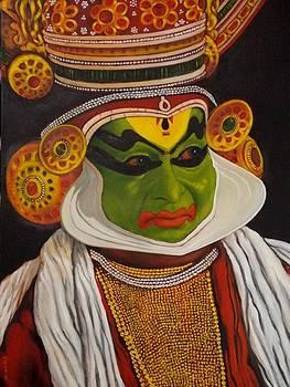 Kathakali by Kishor Raja