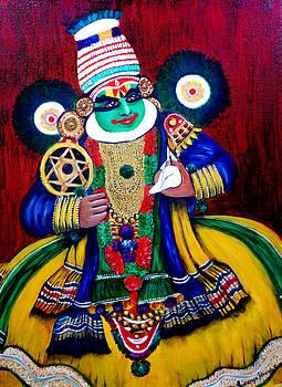 Kathakali..Lord krishna by Saranya Haridasan