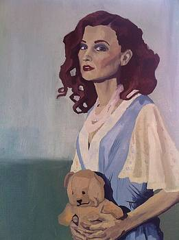 Katie - Teddy Bear by Stephen Panoushek