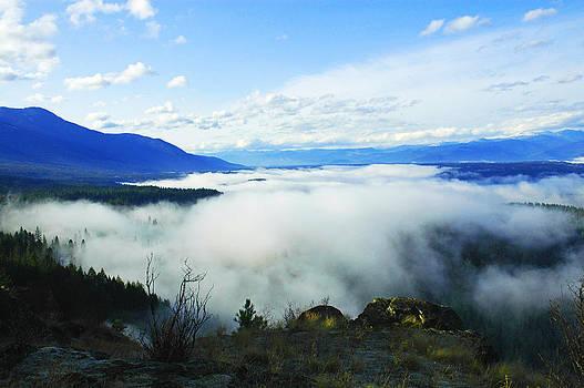 Katka Mountain Lookout by Annie Pflueger