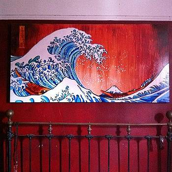 Katsushika Hokusai Great Wave.  This Is by Ocean Clark