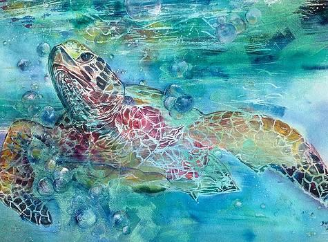 Kauai Hono Turtle by Cheryl Lynn Johnson