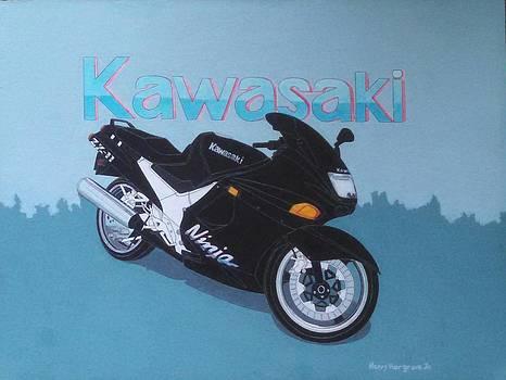Kawasaki Ninja by Henry Hargrove