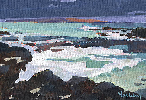 Kahoolawe Storm by Stacy Vosberg
