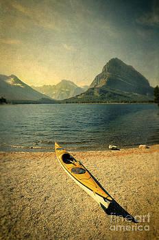 Jill Battaglia - Kayak by Moutain Lake