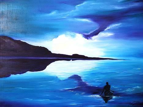 Kayak by Doris Cohen