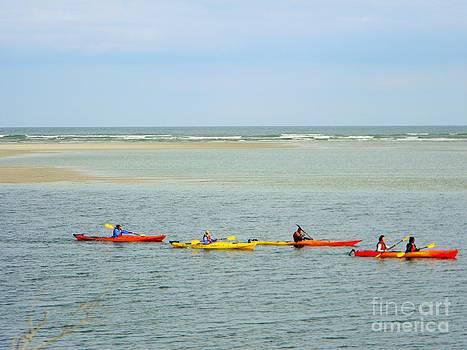 Kayaking In Jacksonville fl by Joanne Askew