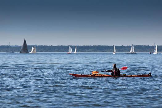 Paul Conrad - Kayaking the Bay