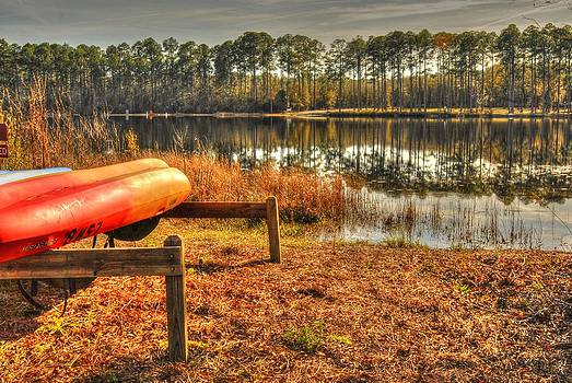 Kayaks 001 by Donald Williams