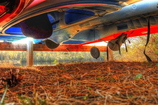 Kayaks 002 by Donald Williams