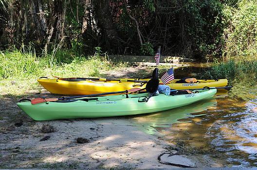 Kayaks by Larry Van Valkenburgh