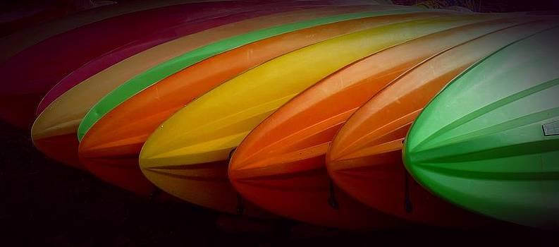 Patricia Strand - Kayaks