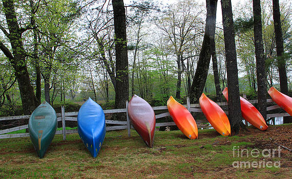 Michael Mooney - Kayaks Waiting