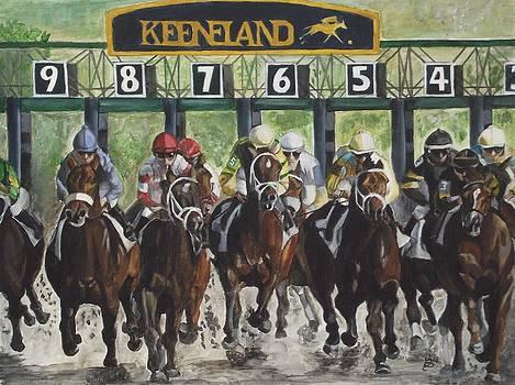 Keeneland by Kim Selig
