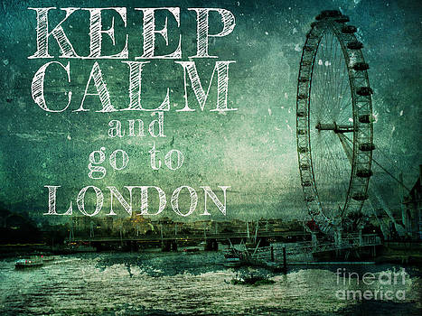 Justyna Jaszke JBJart - Keep calm and go to London