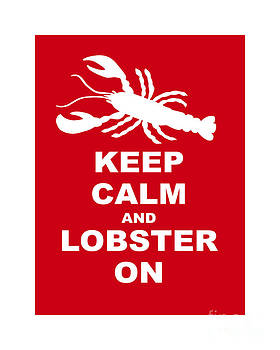 Keep Clam And Lobster On by Julie Knapp