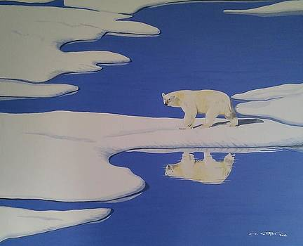 Keep Distance to the Polar King by Ingrid Stiehler