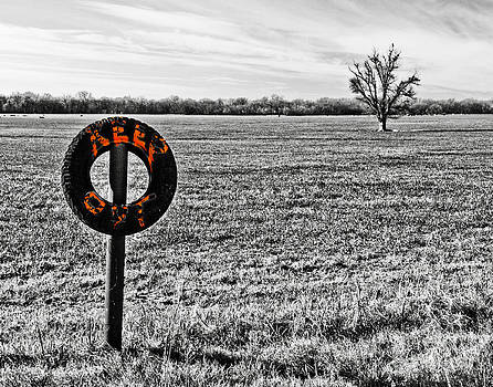 Keep Out Sign by Pattie Calfy