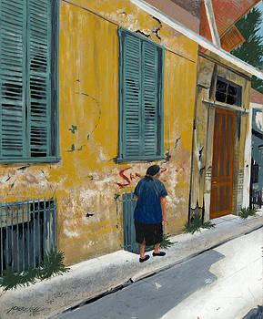 Kefalonia Street by John Wyckoff