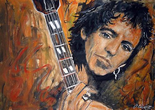 Keith Richard by Olivia Gray