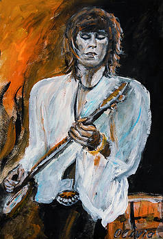 Keith Richards - live by Olivia Gray