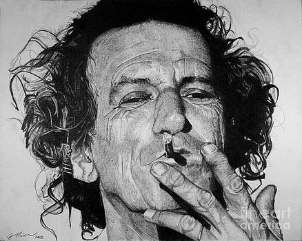 Keith Richards by Jeff Ridlen