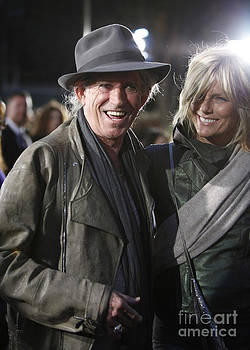 Keith Richards by Nina Prommer