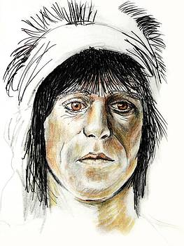 Keith Richards by Todd Spaur