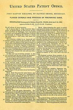 Ian Monk - Kellogg Cereal Patent Art 1896