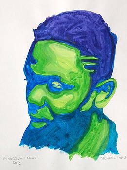Kendrick Lamar by Michael Ringwalt