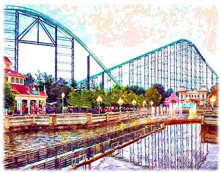 Kennywood Amusement Park by Charles Ott