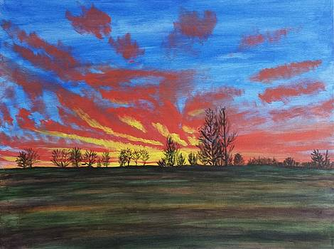 Kenosha County Sunrise by David Sobol