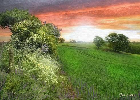Kent between storms by Fran J Scott