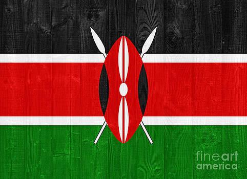 Kenya flag by Luis Alvarenga