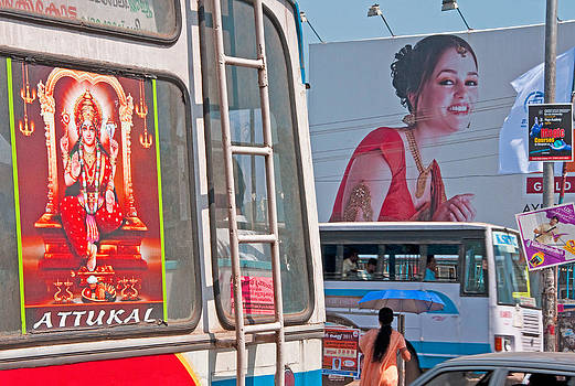 Dennis Cox - Kerala street scene