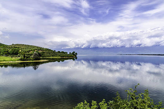 Kerkini lake view. by Slavica Koceva
