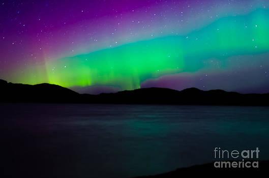 Ketchikan Northern Lights by John MilitaryFire