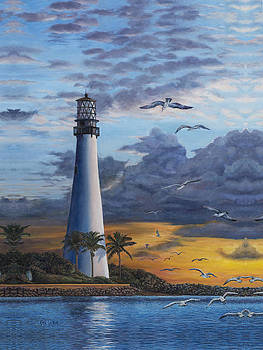 Key Biscayne Lighthouse by Eric Soller