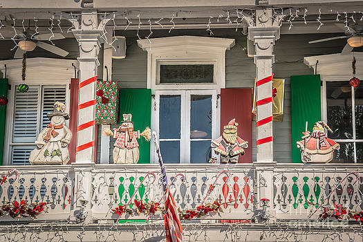 Ian Monk - Key West Christmas Decorations 1 - HDR Style