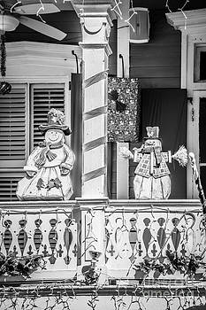 Ian Monk - Key West Christmas Decorations 2 - Black and White