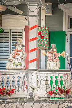Ian Monk - Key West Christmas Decorations 2 - HDR Style