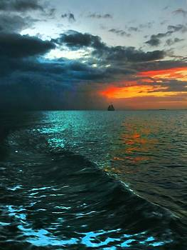 Key West Florida Sunset by Bill Marder