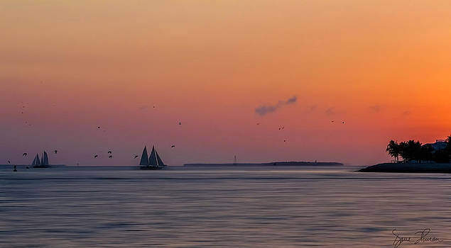 Key West Sunset by David Thurau