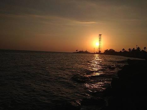 Key West Sunset South by Tommy Mazza