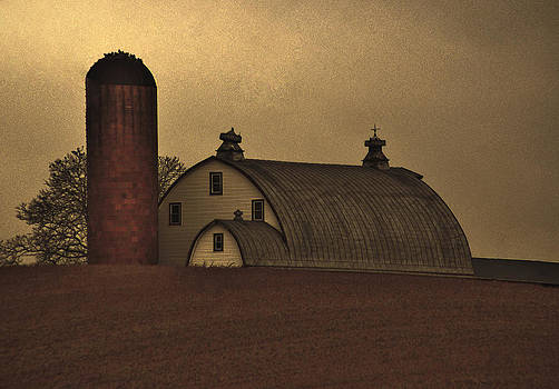 Keymar Barn by Robert Geary